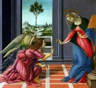 annunciation - Botticelli