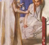 annunciation - Rossetti