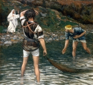 calling of st peter and st andrew - Tissot