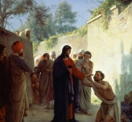 christ heal blind - Bloch