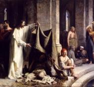 christ healing sick - Bloch