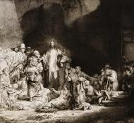 christ heals the sick - Durand