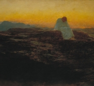 christ in the wilderness - Riviere