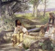 chrystus i samarytanka - Siemiradzki
