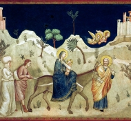 Flight into Egypt - Bondone