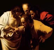 incredulity of st thomas - Caravaggio