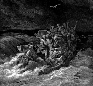 jesus stilling the tempest - Dore