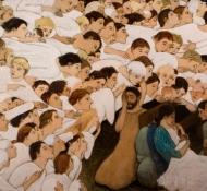 nativity - Kershisnik