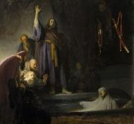 raising of lazarus - Rembrandt