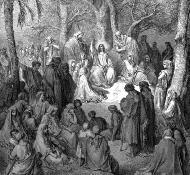 sermon on the mount - Dore