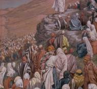 sermon on the mount - Tissot