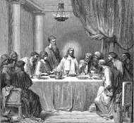 the last supper - Dore