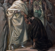 unbelief of st thomas - Tissot