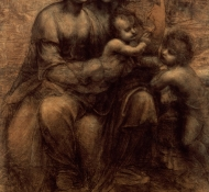 virgin and child - Davinci