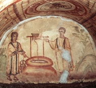 Woman at the Well, Catacomb - Scala