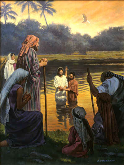 Baptism of Christ Mormon